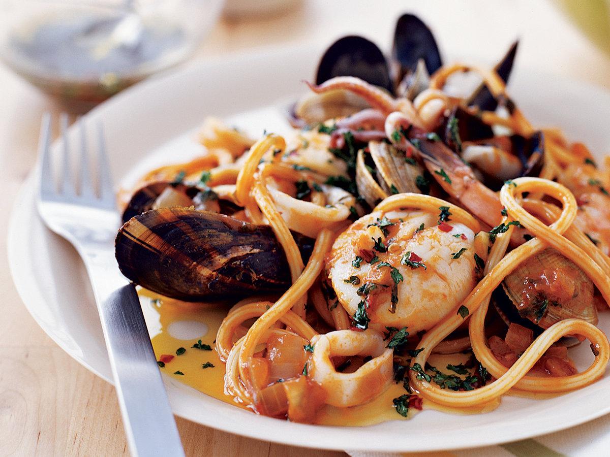 Спагети с морски дарове | Leonardo Bansko