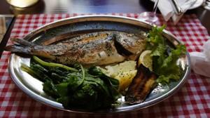 Healthy Italian fish