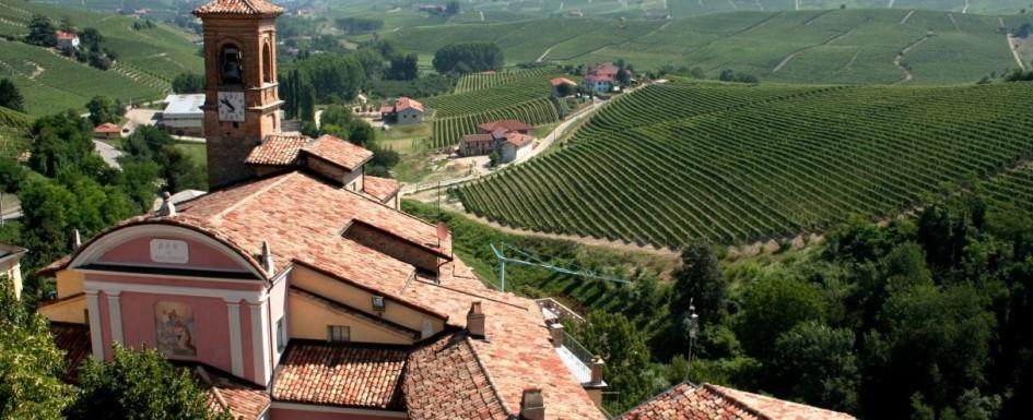 Красива гледка от Пиемонт, Италия