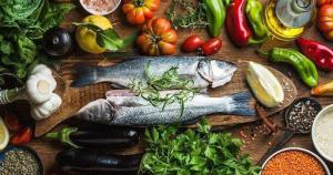 Seafood delicacies from Sardinia region