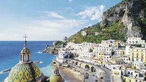 Красива гледка от регион Кампания